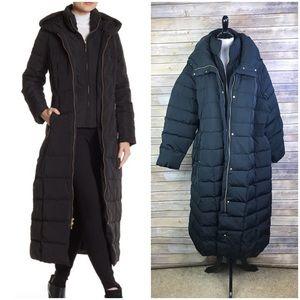 Cole Haan 2X Black Quilted Coat Inner Bib